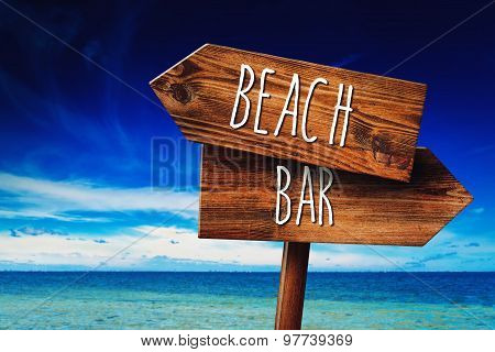 To The Beach Or To The Bar