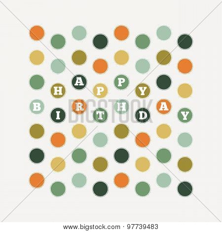 Birthday Dots Pattern