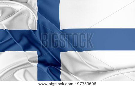 Finland Flag.
