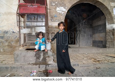 Yemeni Little Girls