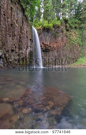 Abiqua Falls In Oregon
