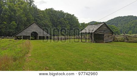Mountain Farm Museum At Great Smoky Mountains National Park