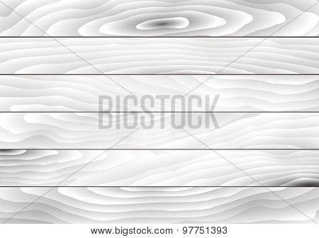 Light gray wooden texture with horizontal planks  floor, table, wall surface