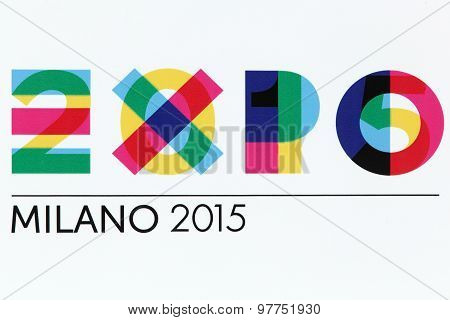 Expo Milano 2015 sign