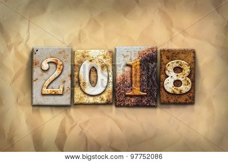 2018 Concept Rusted Metal Type