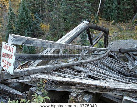 Bridge with Sign