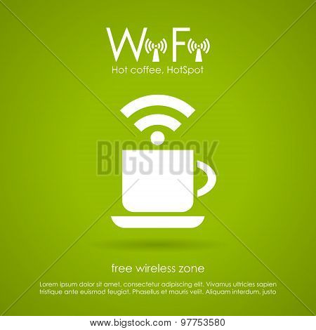 Wi-fi cafe icon