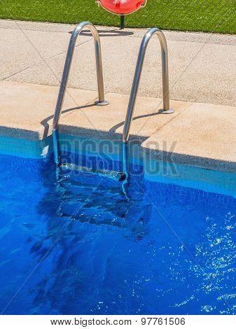 Poolside Ladder