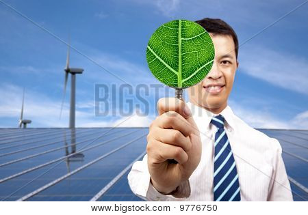 green energy business concept