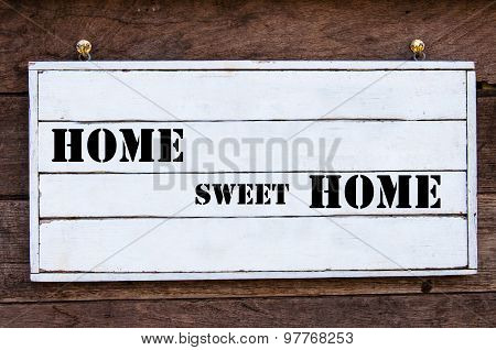 Inspirational Message - Home Sweet Home