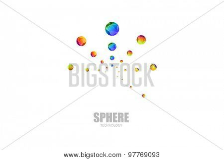 Sphere Logo icon easy editable