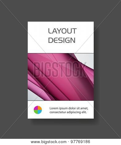 Business modern art template easy all editable