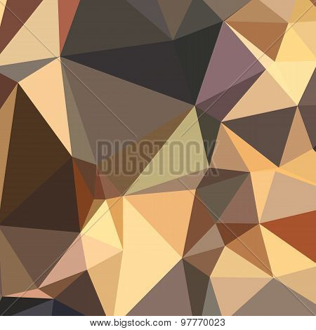 Bole Brown Abstract Low Polygon Background