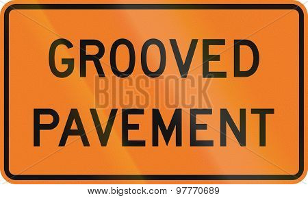 Grooved Pavement In Canada
