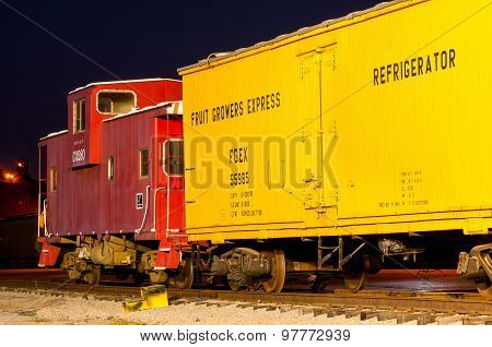 Vintage Freight Train
