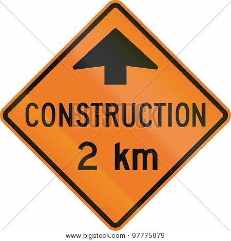 Construction 2 Km In Canada