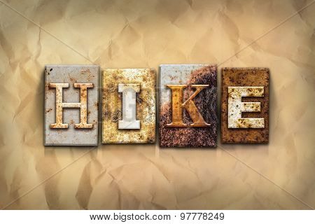 Hike Concept Rusted Metal Type