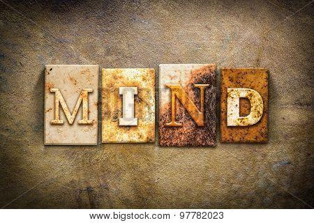 Mind Concept Letterpress Leather Theme