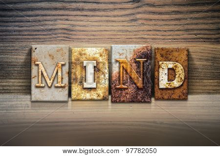 Mind Concept Letterpress Theme