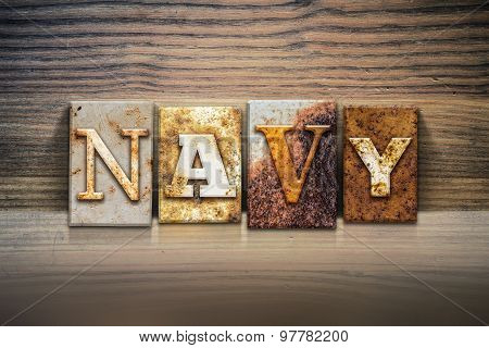 Navy Concept Letterpress Theme