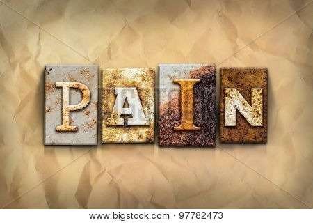 Pain Concept Rusted Metal Type