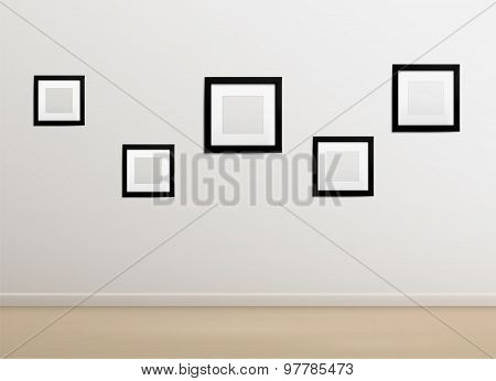 Empty photographer studio background