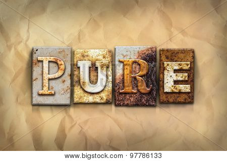 Pure Concept Rusted Metal Type
