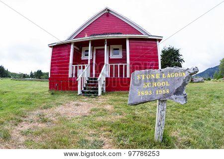 Stone Lagoon Schoolhouse