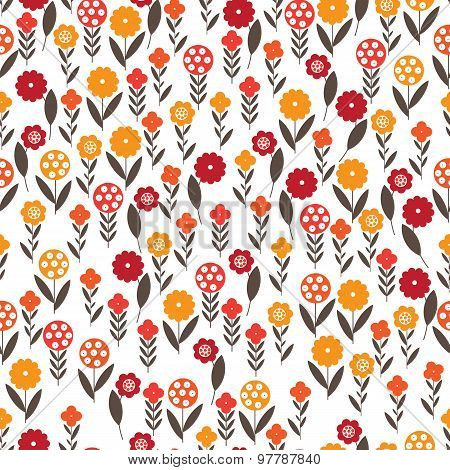 Pattern of small flowers