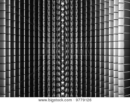 Square Abstract Silver Background