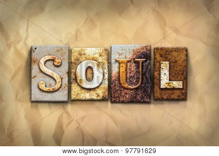 Soul Concept Rusted Metal Type