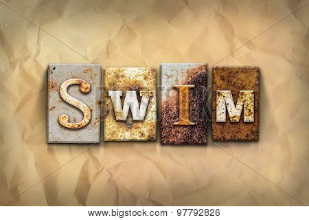 Swim Concept Rusted Metal Type