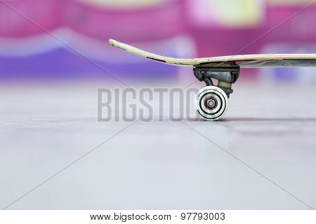Closeup Of A Skateboard