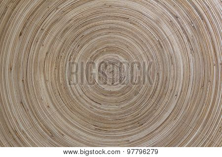 Concentric Patterns Of Wood