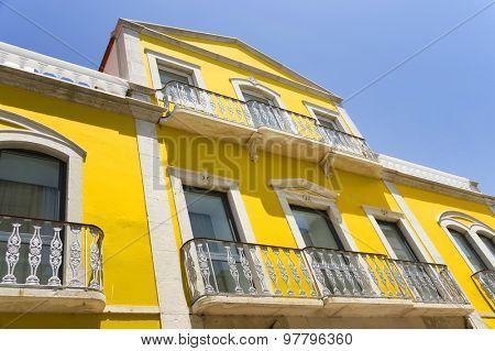 Architectural detail in Faro, Portugal, Europe