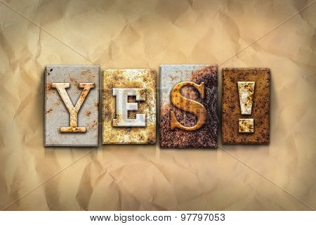 Yes Concept Rusted Metal Type