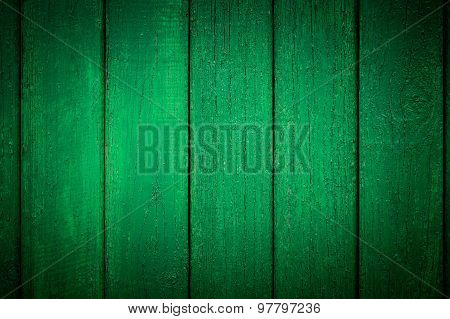 Vignetted Green Background