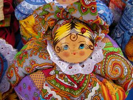 pic of rag-doll  - Products of national creativity doll rag multi - JPG