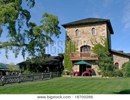 Old Winery in Napa Valley