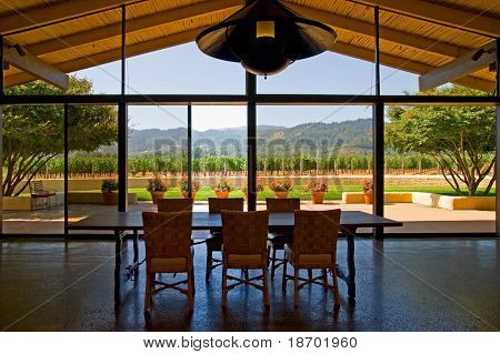 Room with a view in Napa Valley California