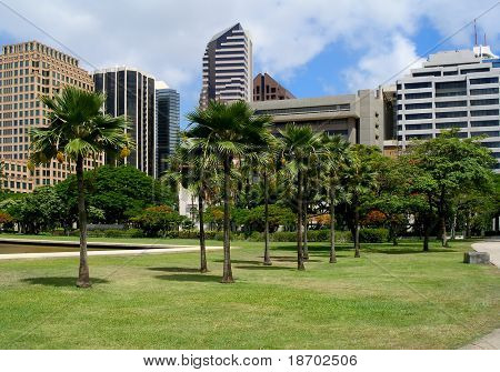 Downtown Honolulu Hawaii