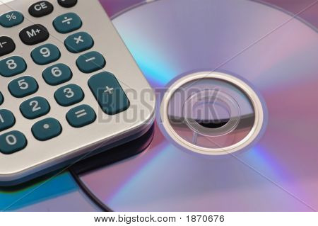 Cds / Dvds With Calculator