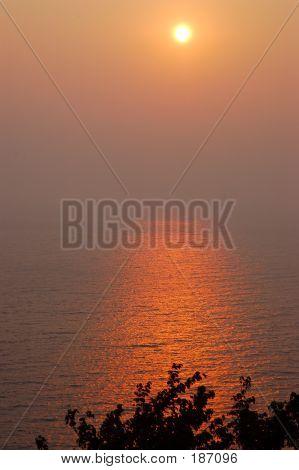 Hazy September Sunset