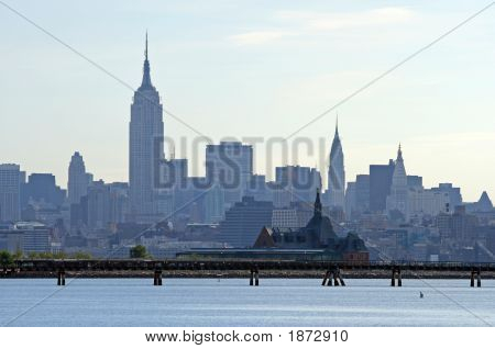 The New York City Skyline
