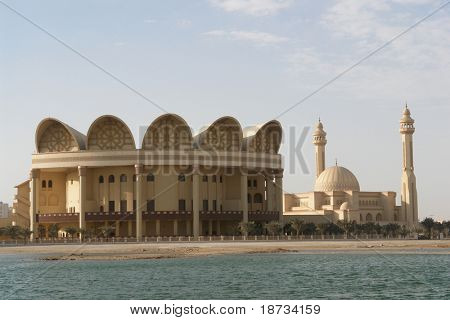 Al-Fateh Grand Mosque in Bahrain