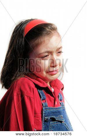 Little sad girl