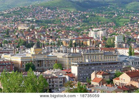 Sarajevo, Bosnia and Herzegovina - cityscape