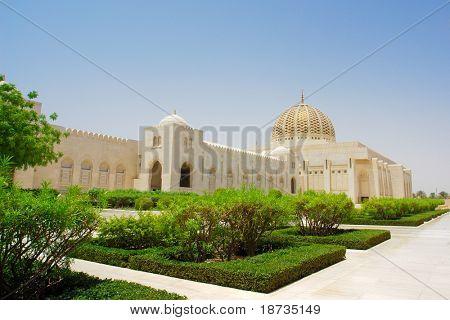 Muscat - Oman, Mesquita do sultão Qaboos Grand