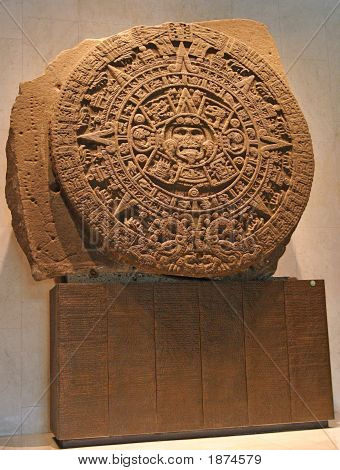 Museum Of Anthropology Mexico City Calendar