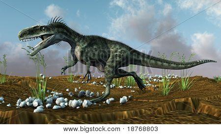 monolophosaurus attack